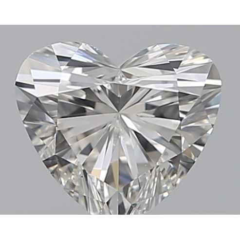 0.33 Carat Heart Loose Diamond, G, VS1, Super Ideal, GIA Certified