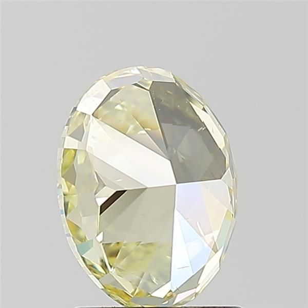 1.41 Carat Oval Loose Diamond, Fancy Intense Yellow, SI2, Super Ideal, GIA Certified