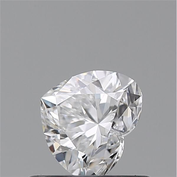 0.46 Carat Heart Loose Diamond, D, IF, Super Ideal, GIA Certified