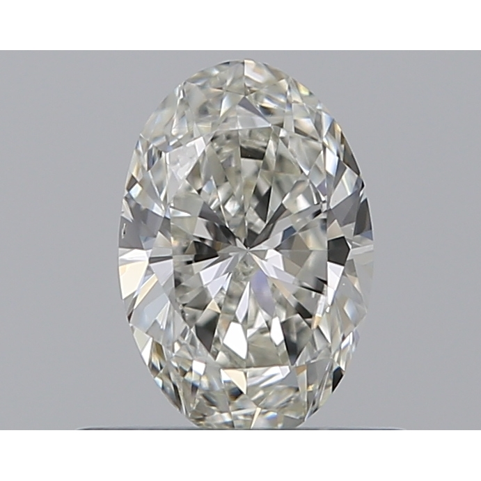 0.46 Carat Oval Loose Diamond, I, VS2, Excellent, GIA Certified