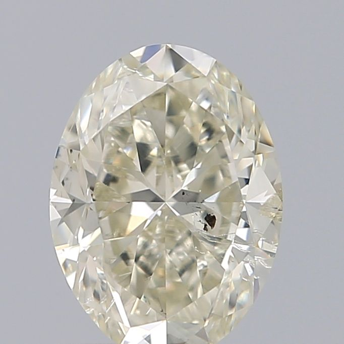 1.20 Carat Oval Loose Diamond, L, I1, Excellent, GIA Certified