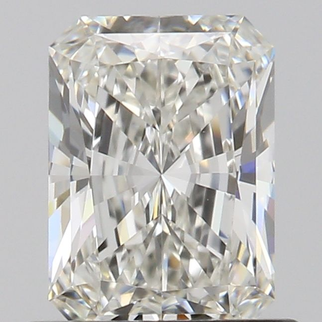 0.65 Carat Radiant Loose Diamond, H, IF, Excellent, GIA Certified