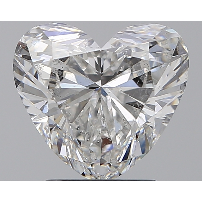 2.00 Carat Heart Loose Diamond, F, SI2, Super Ideal, GIA Certified | Thumbnail