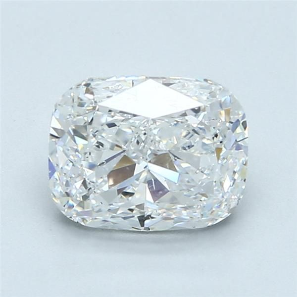 2.02 Carat Cushion Loose Diamond, D, SI1, Excellent, GIA Certified
