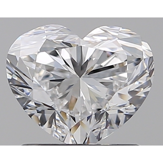 1.01 Carat Heart Loose Diamond, D, VS1, Ideal, GIA Certified