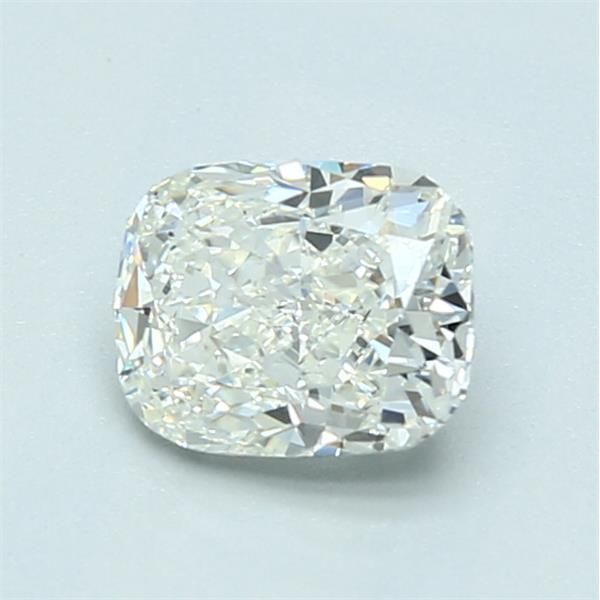 1.03 Carat Cushion Loose Diamond, J, SI1, Excellent, GIA Certified