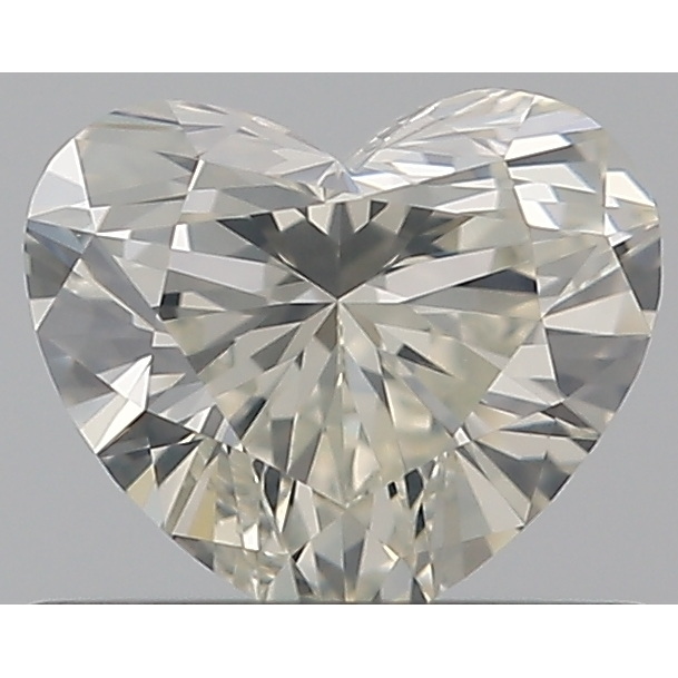 0.50 Carat Heart Loose Diamond, K, SI1, Super Ideal, GIA Certified