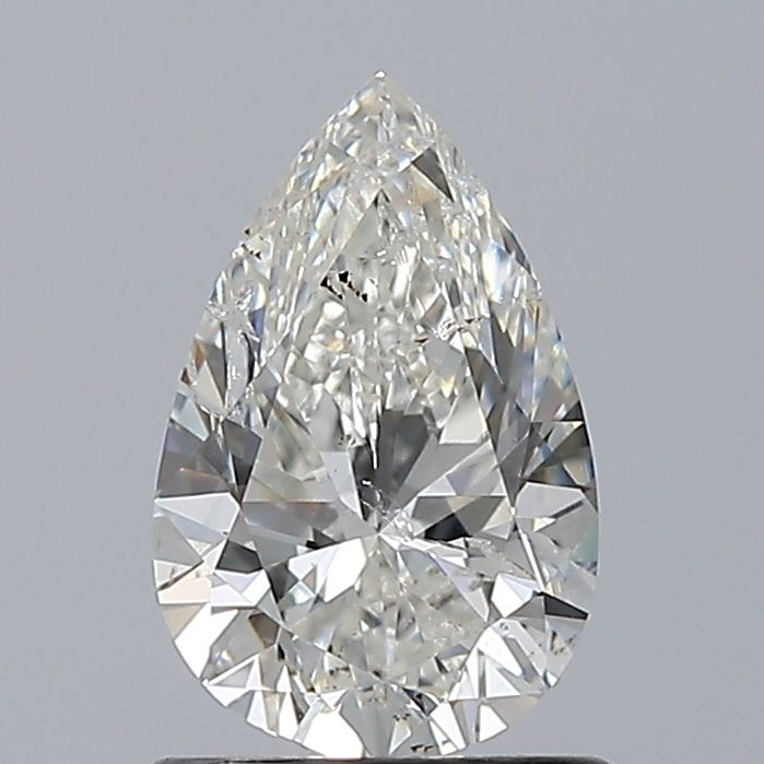1.00 Carat Pear Loose Diamond, H, I1, Excellent, GIA Certified