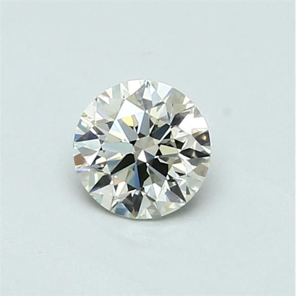 0.44 Carat Round Loose Diamond, L, IF, Super Ideal, GIA Certified