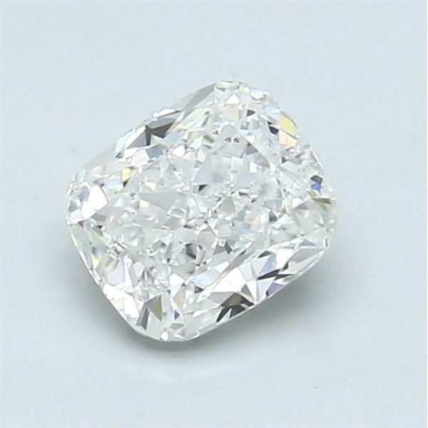 1.02 Carat Cushion Loose Diamond, F, SI1, Excellent, GIA Certified