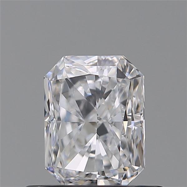 0.55 Carat Radiant Loose Diamond, D, IF, Super Ideal, GIA Certified