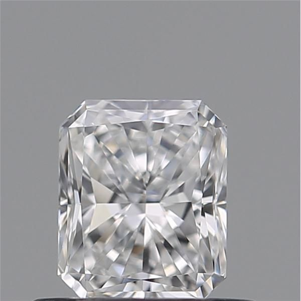 0.50 Carat Radiant Loose Diamond, D, IF, Super Ideal, GIA Certified