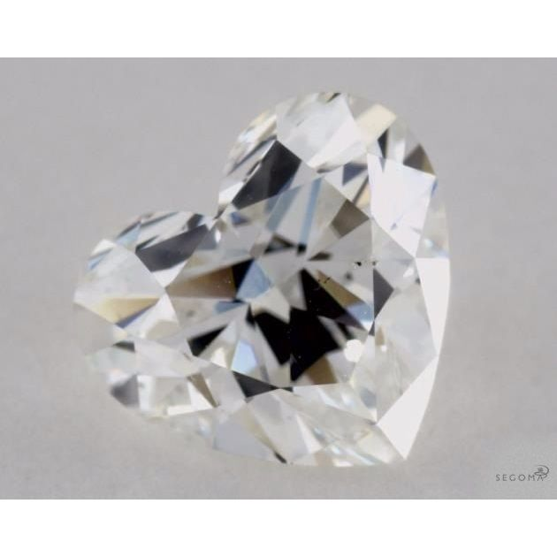 1.01 Carat Heart Loose Diamond, G, SI1, Ideal, GIA Certified