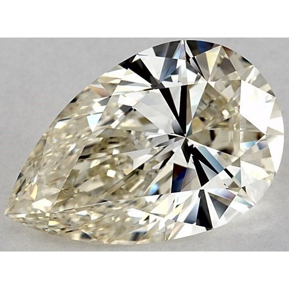 11.25 Carat Pear Loose Diamond, J, VVS1, Super Ideal, IGI Certified