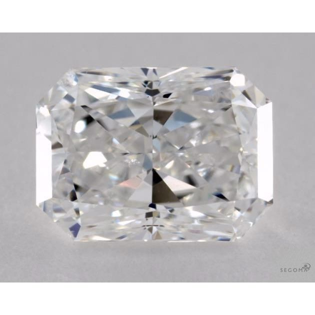 2.03 Carat Radiant Loose Diamond, E, SI2, Excellent, GIA Certified