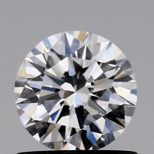 0.62 Carat Round Loose Diamond, E, VVS2, Excellent, GIA Certified