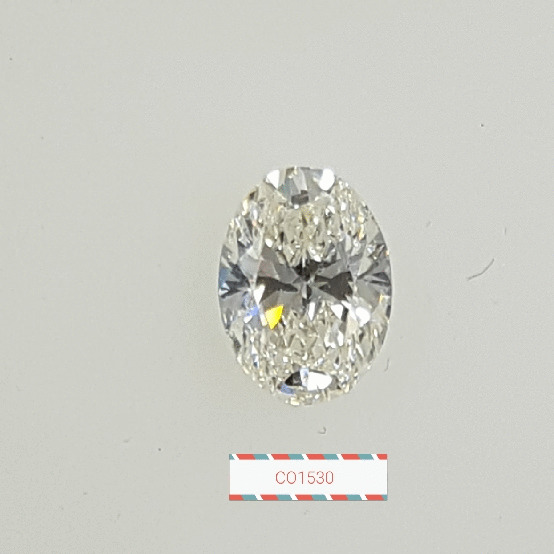 0.92 Carat Oval Loose Diamond, J, SI2, Super Ideal, GIA Certified | Thumbnail