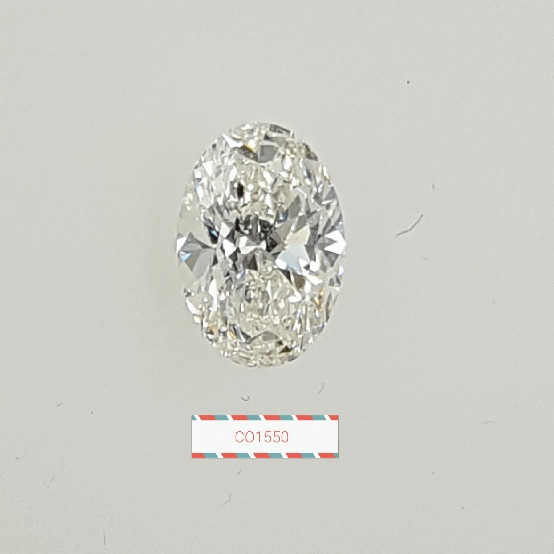 0.90 Carat Oval Loose Diamond, I, SI2, Super Ideal, GIA Certified