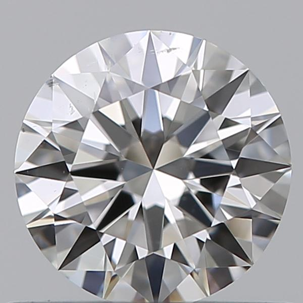0.51 Carat Round Loose Diamond, G, SI1, Super Ideal, GIA Certified