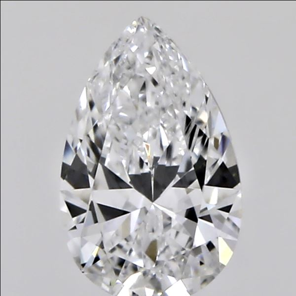 0.31 Carat Pear Loose Diamond, D, VS2, Ideal, GIA Certified