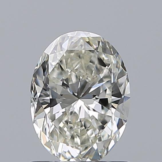 1.00 Carat Oval Loose Diamond, I, VS1, Excellent, GIA Certified
