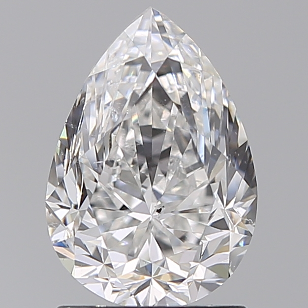 1.50 Carat Pear Loose Diamond, F, SI2, Excellent, GIA Certified