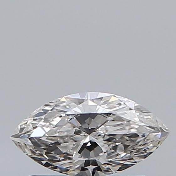 0.38 Carat Marquise Loose Diamond, G, VVS2, Ideal, GIA Certified