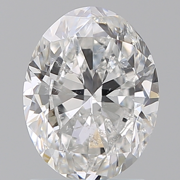 1.50 Carat Oval Loose Diamond, F, SI2, Excellent, GIA Certified