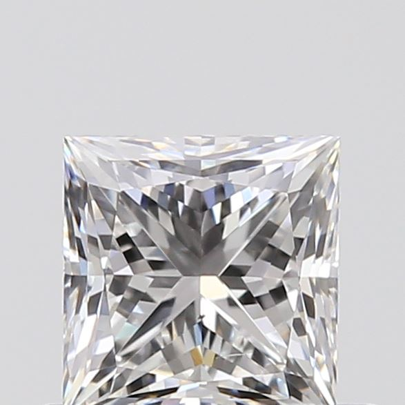 0.54 Carat Princess Loose Diamond, F, VS2, Excellent, GIA Certified