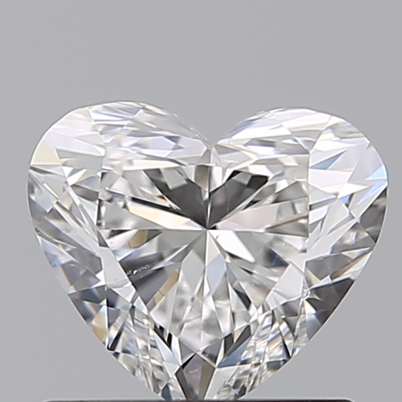0.72 Carat Heart Loose Diamond, F, VS2, Super Ideal, GIA Certified | Thumbnail