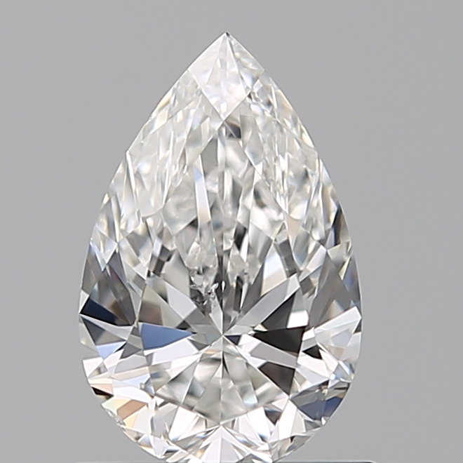 0.70 Carat Pear Loose Diamond, F, SI1, Super Ideal, GIA Certified