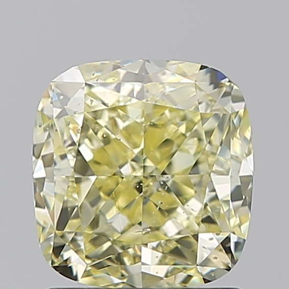 1.60 Carat Cushion Loose Diamond, FANCY, SI2, Excellent, GIA Certified