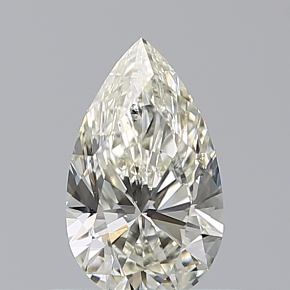 0.50 Carat Pear Loose Diamond, K, SI1, Ideal, GIA Certified