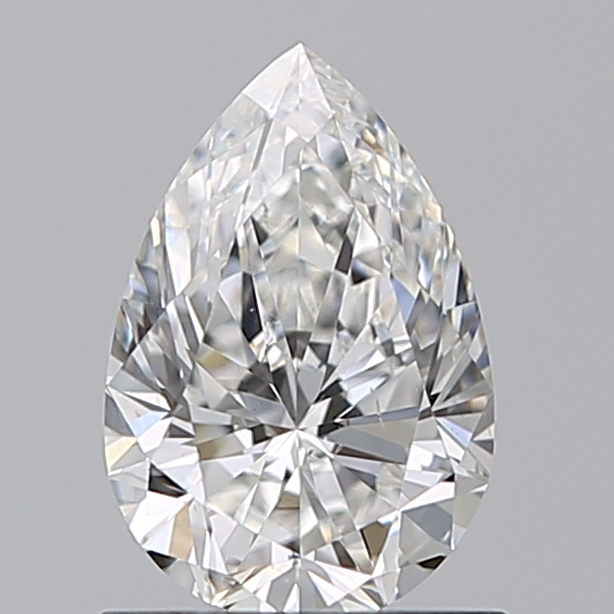 0.70 Carat Pear Loose Diamond, F, VS2, Super Ideal, GIA Certified | Thumbnail