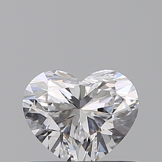 0.41 Carat Heart Loose Diamond, D, VVS1, Super Ideal, GIA Certified