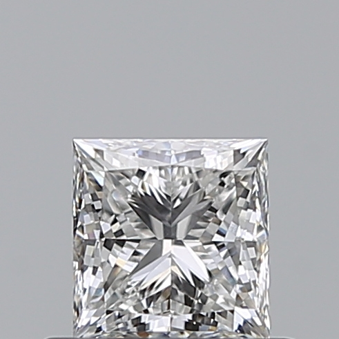 0.51 Carat Princess Loose Diamond, G, VS2, Ideal, GIA Certified
