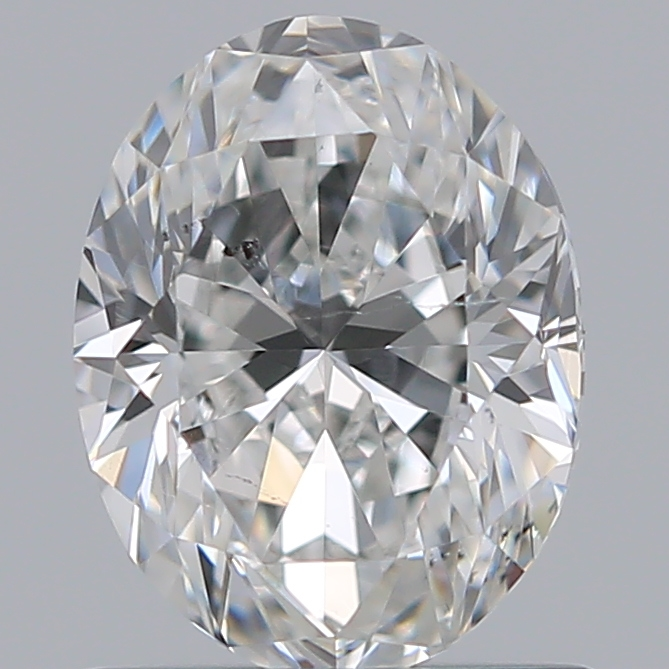 0.75 Carat Oval Loose Diamond, F, SI1, Ideal, GIA Certified