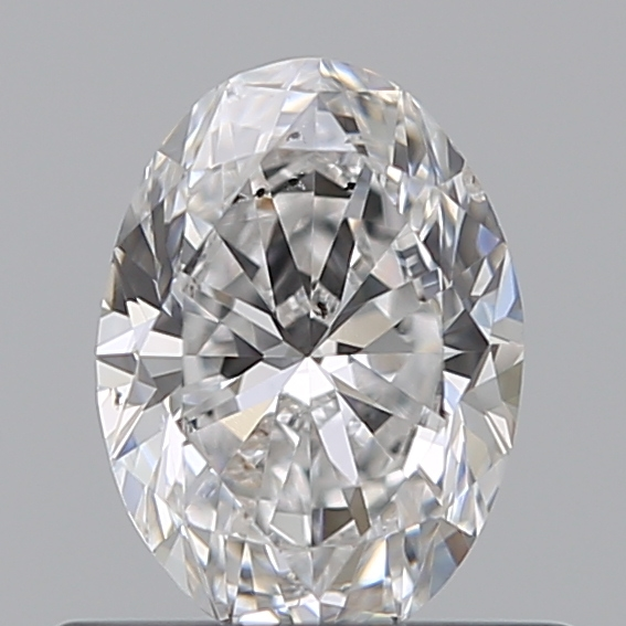 0.50 Carat Oval Loose Diamond, E, SI1, Excellent, GIA Certified