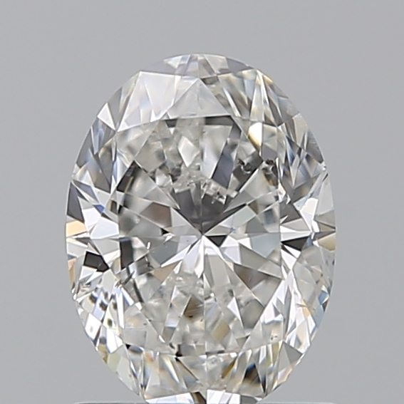 0.90 Carat Oval Loose Diamond, F, SI1, Super Ideal, GIA Certified | Thumbnail