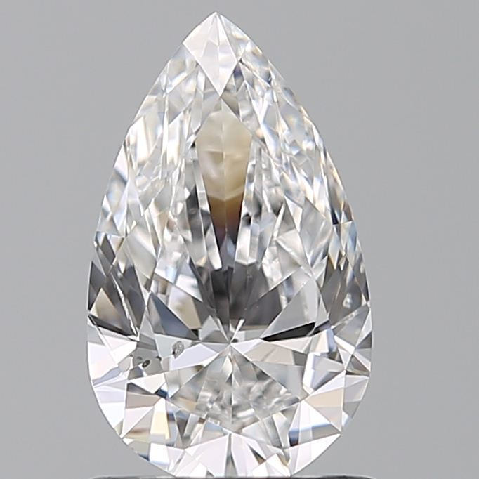 0.90 Carat Pear Loose Diamond, E, SI2, Ideal, GIA Certified