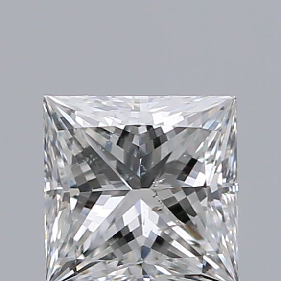0.51 Carat Princess Loose Diamond, G, SI2, Ideal, GIA Certified