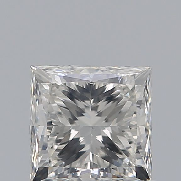 0.72 Carat Princess Loose Diamond, I, SI1, Ideal, GIA Certified