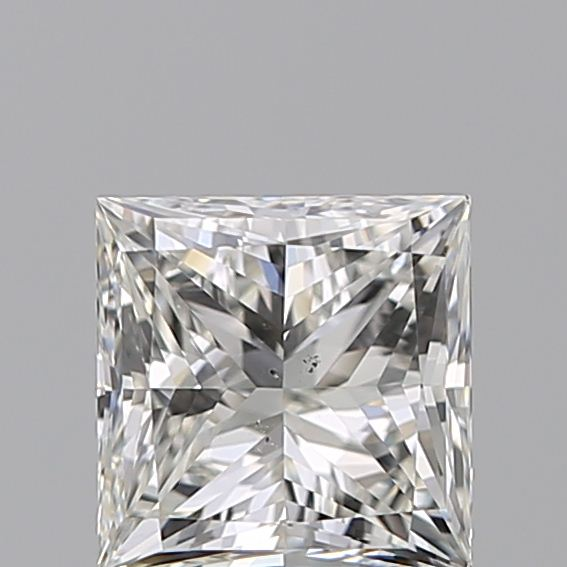 1.00 Carat Princess Loose Diamond, H, SI1, Super Ideal, GIA Certified