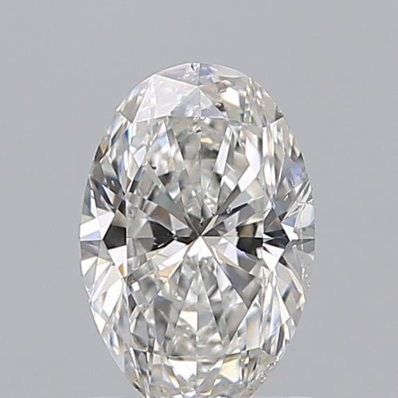1.00 Carat Oval Loose Diamond, F, SI2, Super Ideal, GIA Certified | Thumbnail