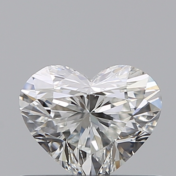 0.40 Carat Heart Loose Diamond, H, VS1, Ideal, GIA Certified