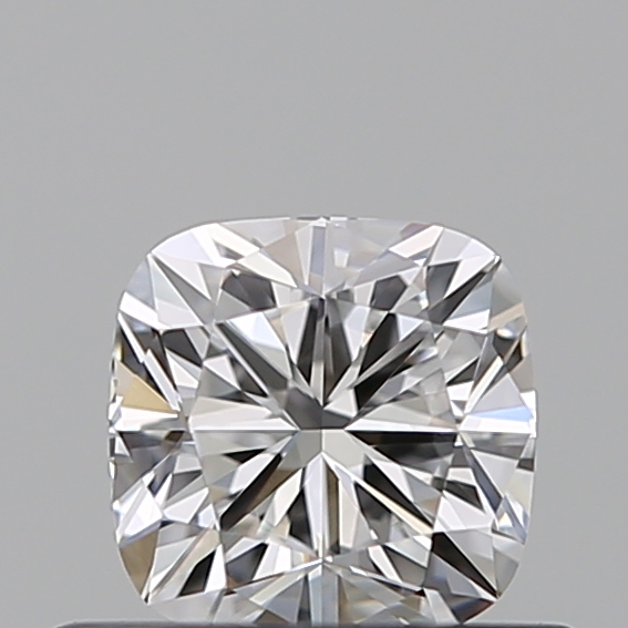 0.41 Carat Cushion Loose Diamond, D, VVS2, Super Ideal, GIA Certified