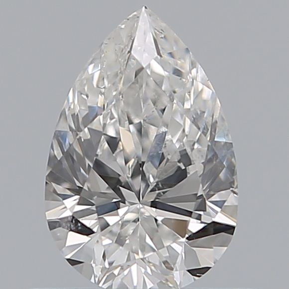 0.50 Carat Pear Loose Diamond, E, SI1, Super Ideal, GIA Certified
