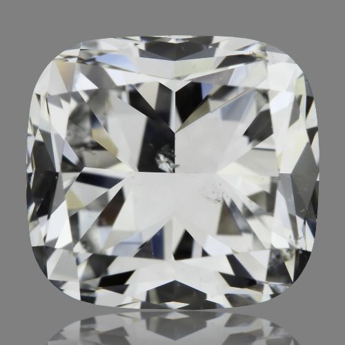 1.50 Carat Cushion Loose Diamond, F, SI2, Excellent, GIA Certified