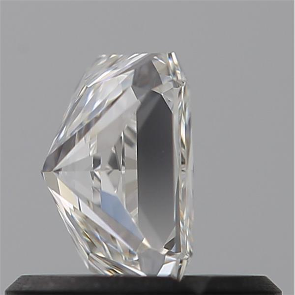 0.55 Carat Radiant Loose Diamond, H, VVS2, Super Ideal, GIA Certified