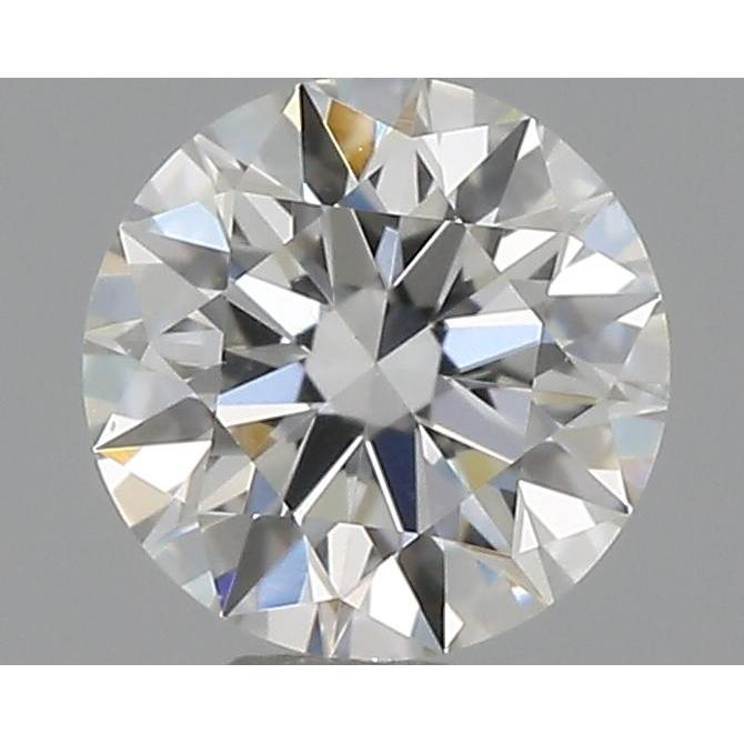 0.33 Carat Round Loose Diamond, F, SI1, Super Ideal, GIA Certified